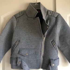 Brand new with tags, fashion forward crop coat